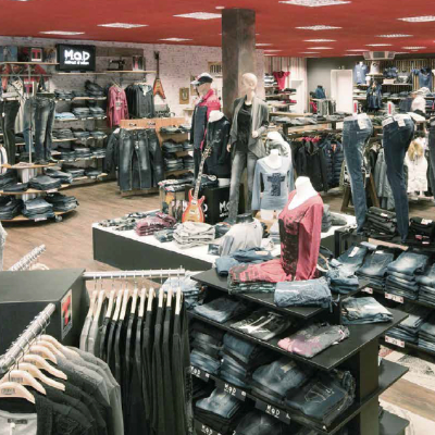 Einzelhandel Arber Center Geschäftshaus Bodenmais Mode Muhr - Fonds & Vermögen Verwaltungs GmbH